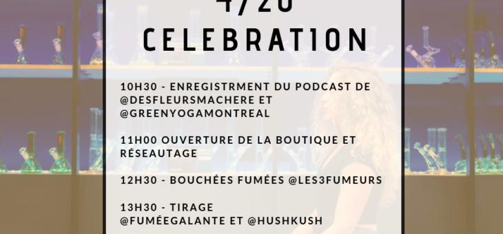 Première célébration du 4/20 post-légalisation