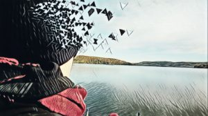 Depression soignee avec cannabis portrait CBD Quebec Ju et Mel
